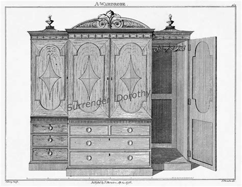 Free Antique Dresser Plans