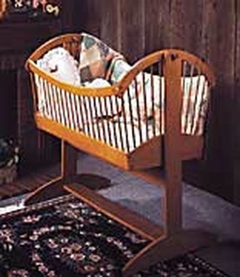 Free Baby Bassinet Woodworking Plans