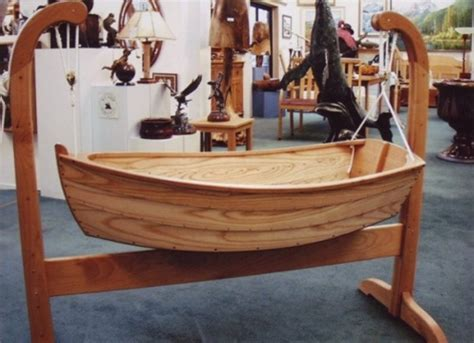 Free Baby Boat Cradle Plans