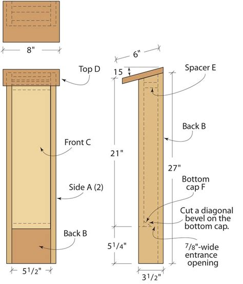 Free Bat House Plans For Wisconsin