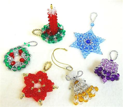 Free Beaded Christmas Tree Ornaments Patterns