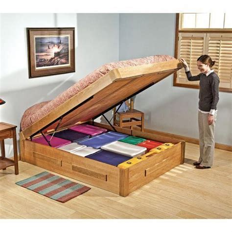 Free Bed Plans With Mattress Lift System