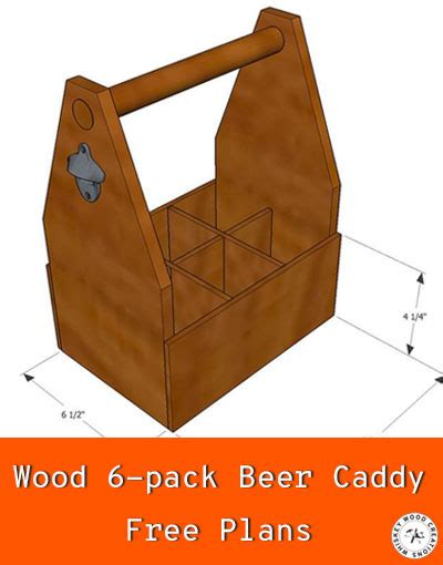 Free Beer Caddy Plans