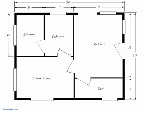 Free Blank House Plans