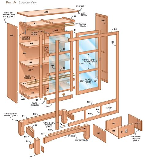 Free Bookcase Plans With Doors
