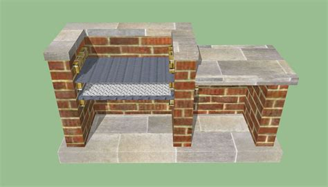 Free Brick Grill Plans