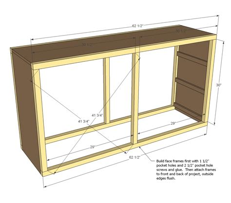 Free Build Your Own Dresser Plans