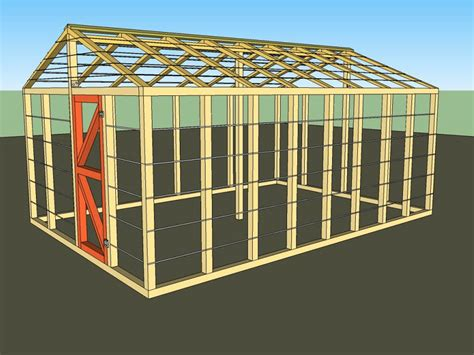 Free Building Plans For Greenhouses