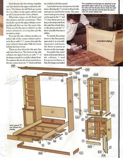 Free Building Plans For Murphy Bed