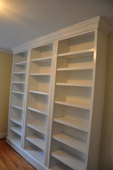 Free Built In Bookcase Plans To Build