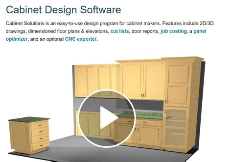 Free Cabinet Design Software Mac