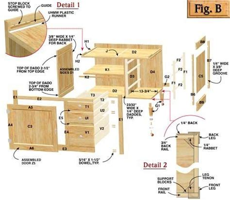 Free Cabinet Plans To Build