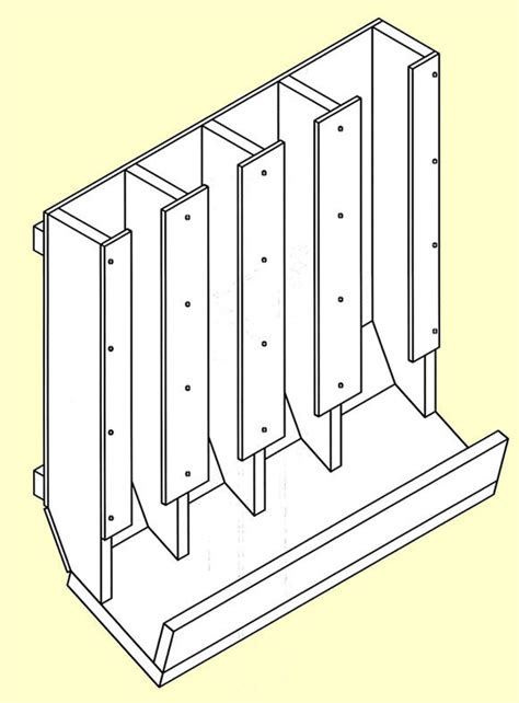 Free Can Rack Plans