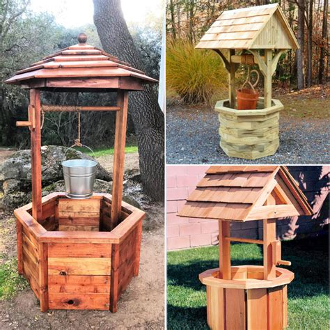 Free Cedar Wishing Well Plans