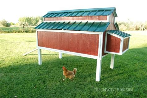 Free Chicken Coop Designs That Hold 6 Or More Chickens Than Humans