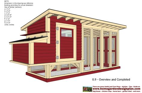 Free Chicken Coop Plans For 4 Chickens