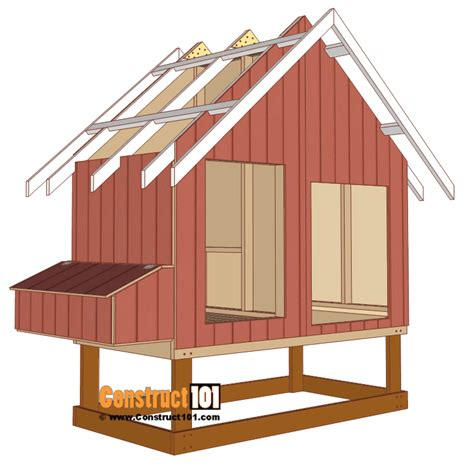 Free Chicken Coop Plans For 8 Chickens
