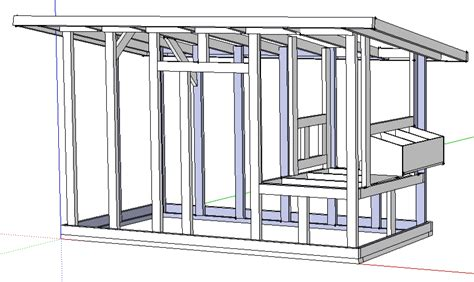Free Chicken Coop Plans Sketchup