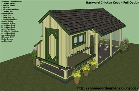 Free Chicken House Plans For 20 Chickens