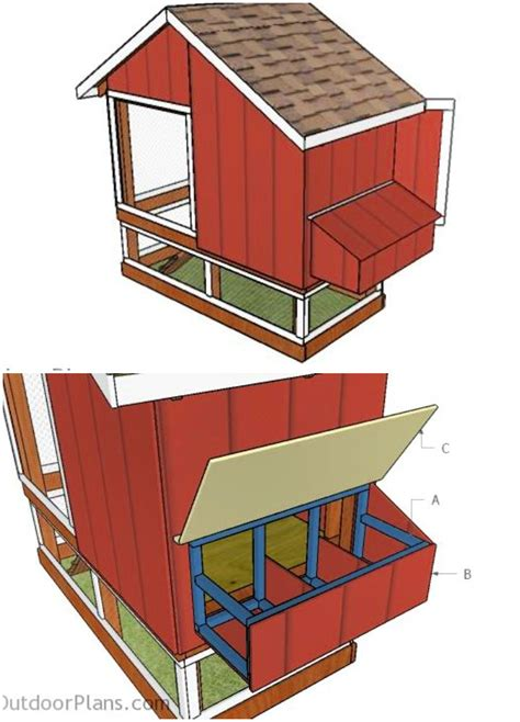 Free Chicken Nest Box Plans
