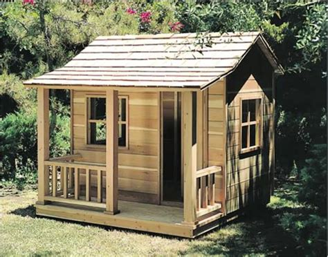 Free Childrens Outdoor Playhouse Plans