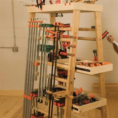 Free Clamp Rack Plans