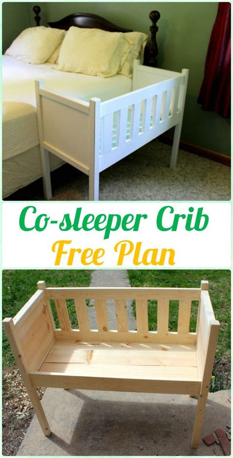 Free Co Sleeper Crib Plans DIY Garage Workbench