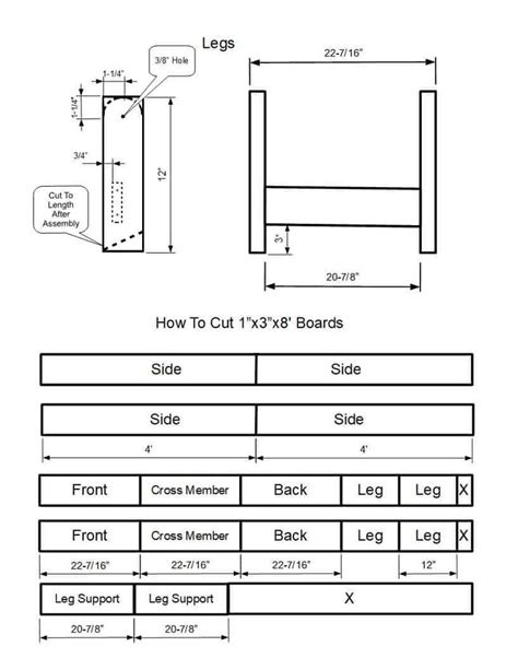 Free Corn Hole Game Building Plans