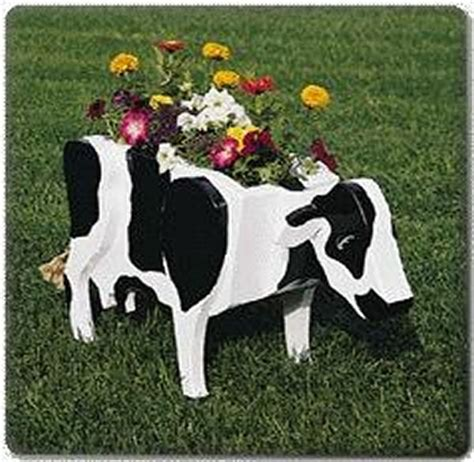 Free Cow Planter Plans