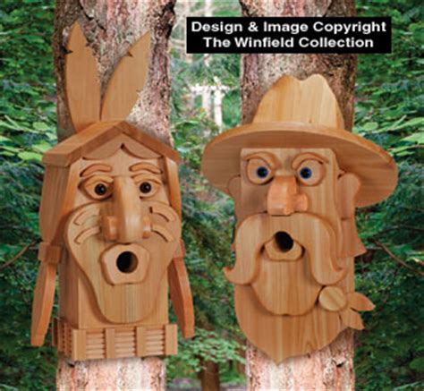 Free Cowboy Birdhouse Patterns