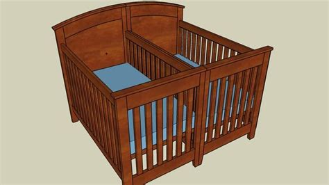 Free Crib Plans For Sketchup 3d For Everyone