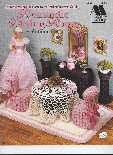 Free Crochet Fashion Doll Furniture Patterns