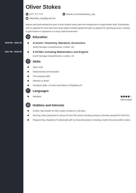 Sample Civil Engineering Job Application Letter Cv Sample In English Download