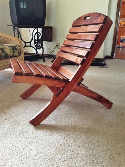 Free DIY Folding Deck Chair Plans