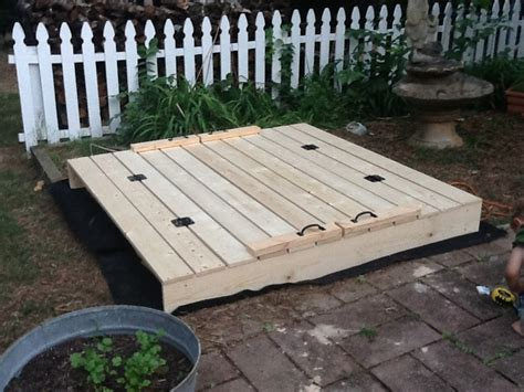 Free DIY Sandbox Plans With Pictures