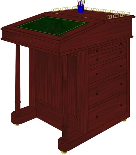 Free Davenport Desk Plans