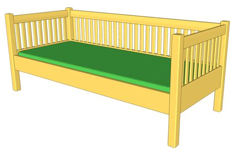Free Daybed Woodworking Plans