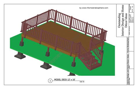 Free Deck Plans Blueprints