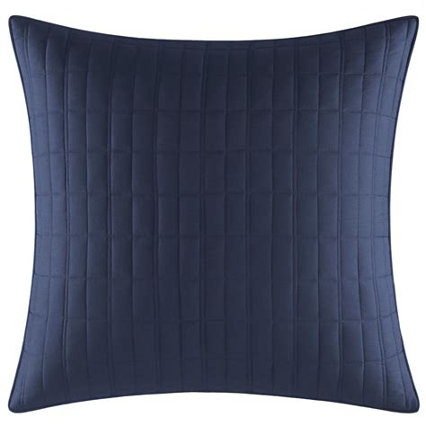 Free Delivery Navy Euro Pillow Shams