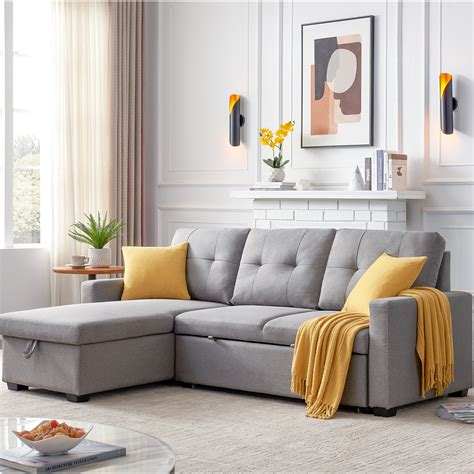 Free Delivery Sectional Sofas With Pull Out Bed