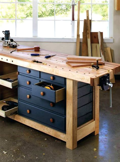 Free Design Plans For Workbenches