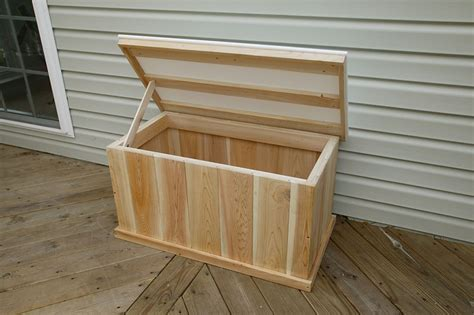 Free Diy Deck Storage Box Plans