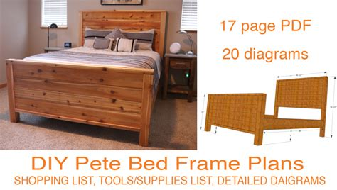 Free Diy Pete Bed Frame Plans