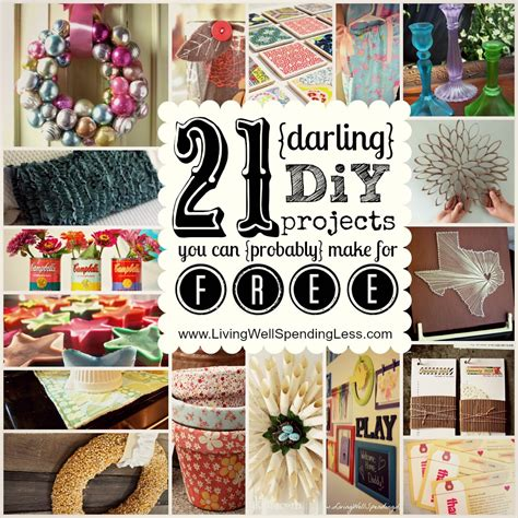 Free Diy Projects Free Craft Projects