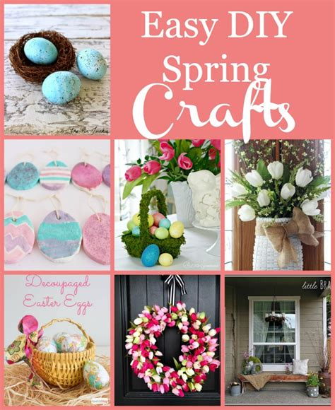 Free Diy Spring Crafts