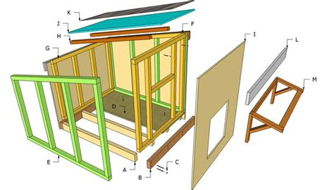Free Dog House Plans Blueprints