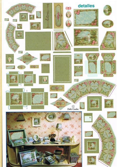Free Dollhouse Patterns Victorian Dollhouse Accessories