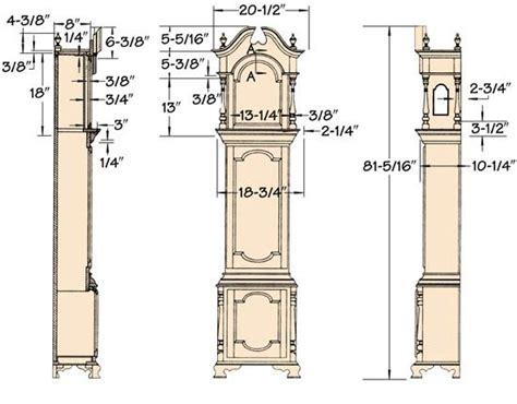 Free Downloads Of Grandfather Clock Blueprints Tatooine
