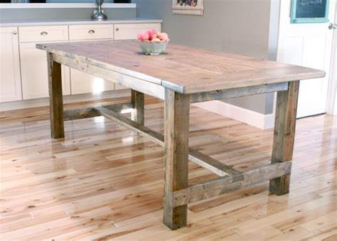 Free Farmhouse Table Building Plans