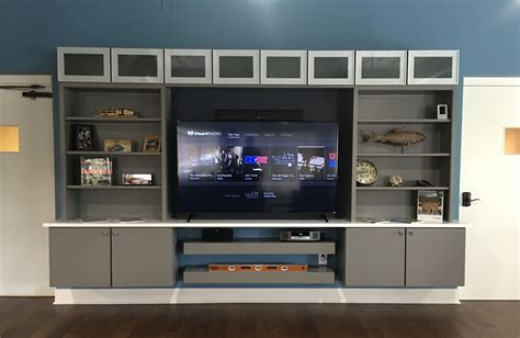 Free Floating Entertainment Center Plans